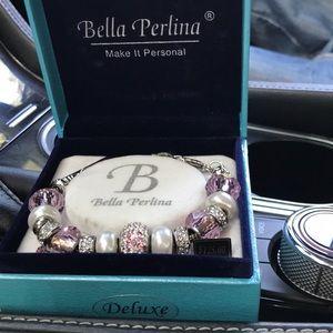 Bella Perlina breast cancer bracelet.